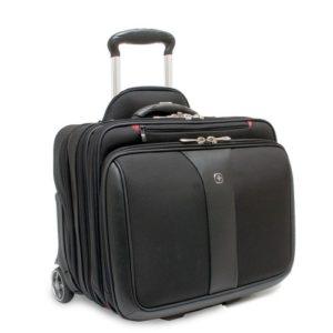 zdjęcie czarnej torby pilotki