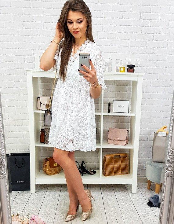 sukienka biała na lato