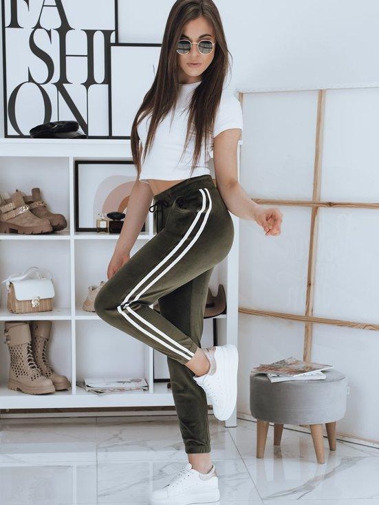 spodnie dresowe damskie welur